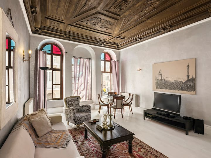 High Ceiling Authentic Ottoman Home
