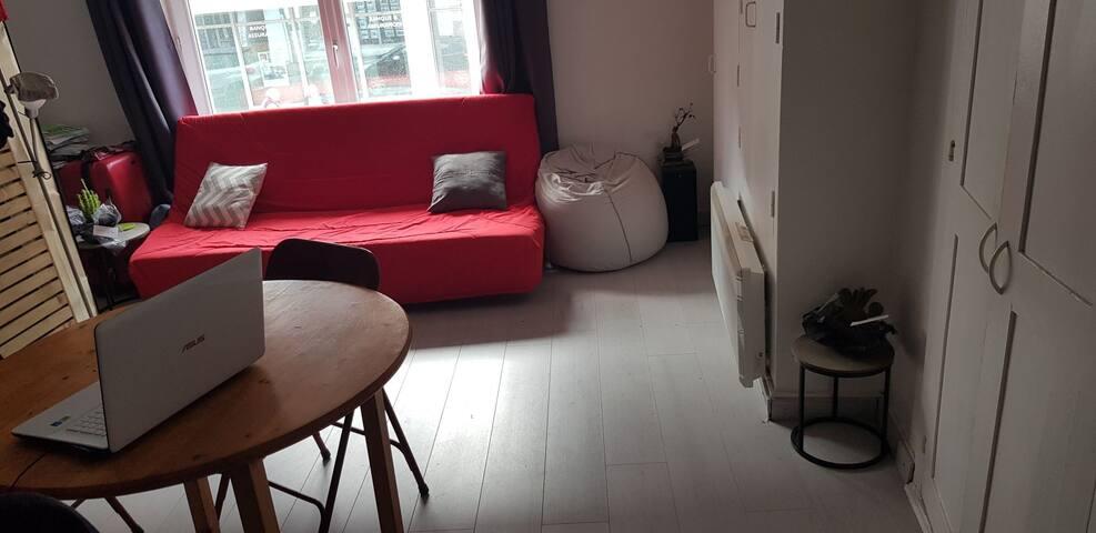 Maison Studio centre ville de Niort Privée