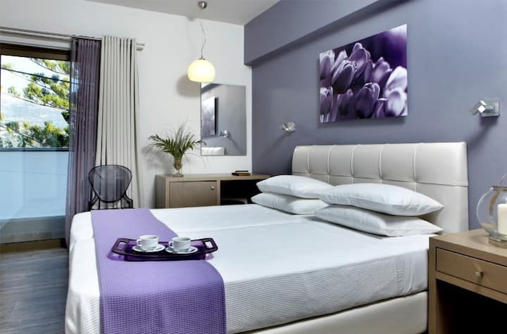 Double Room with Breakfast and Sea View*WiFi!