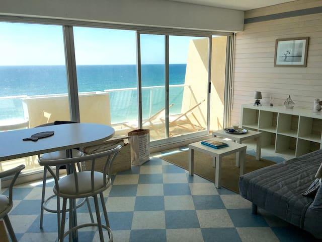 Studio cosy dernier étage avec vue sur l'ocean - Lacanau - Apartmen