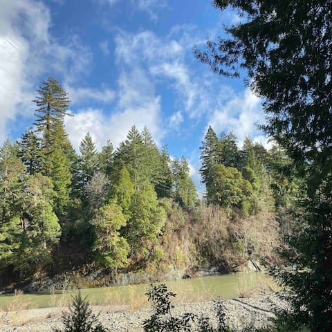 Redwood River Cottage: Self Check-In, Aromatherapy