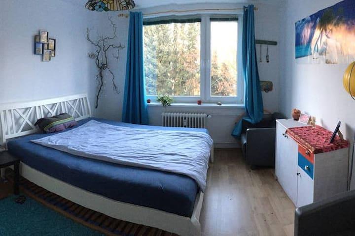 Ruhiges Doppelzimmer in verspielter Wohnung - Berlin - Apartment