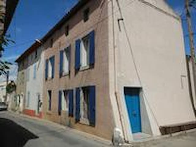 Well located Canal du Midi Ventenac village house