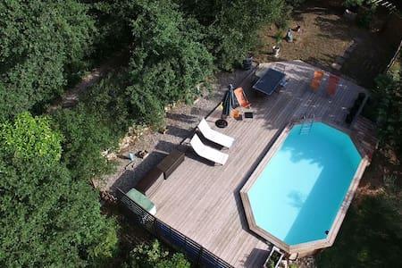 Belle chambre indépendante piscine - La Bouilladisse - Casa