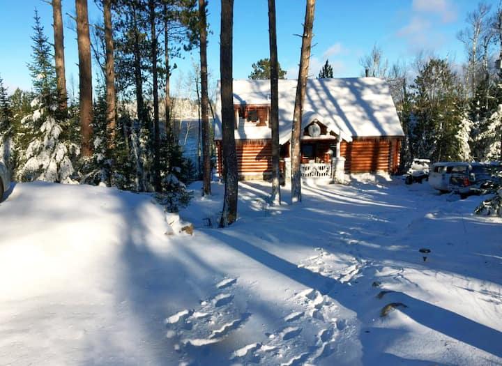Luxury Log Cabin;WinterSports,Summer Fun!
