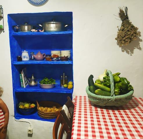 La Maestra, casa tradicional de La Alpujarra