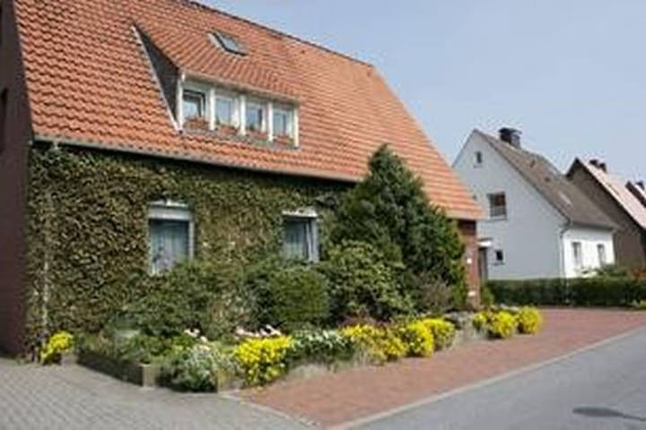 Garden-Appartment without stairs - Bad Iburg - Hus