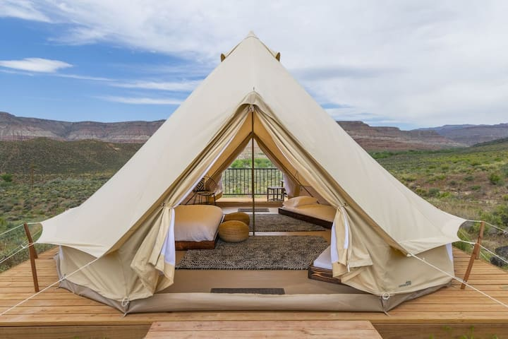 Ulitimate Zion Glamping Stay