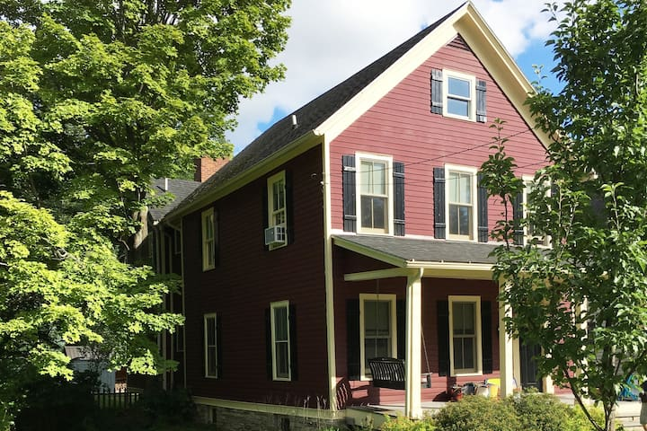 Village Home-1 1/2 blocks from Hall of Fame