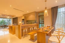 Ling room & kitchenete
