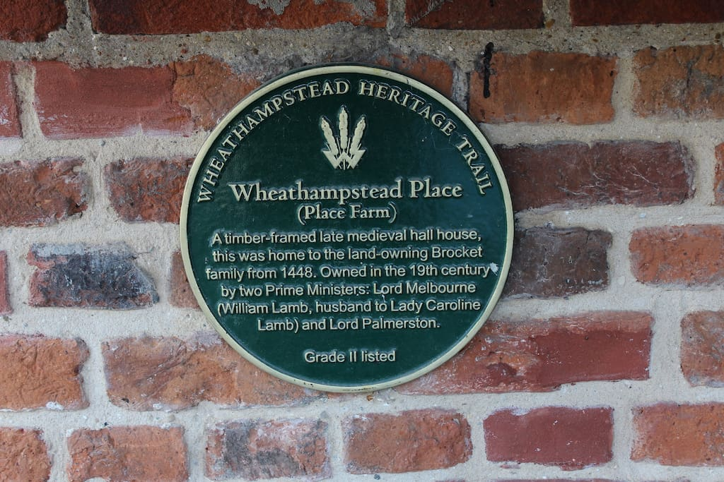 Wheathampstead Place since 1448. Previously owned by two former Prime Ministers, Lord Melbourne and Lord Palmerston.  Grade 2 listed.