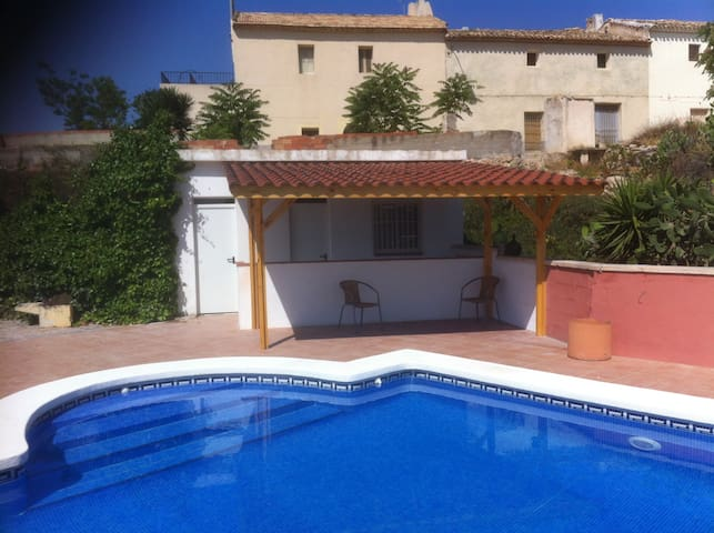 Las Laderas - Rustic apartment with private pool - Alicante - Apartamento