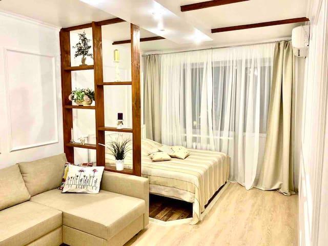 Уютная квартира с дизайнерским ремонтом