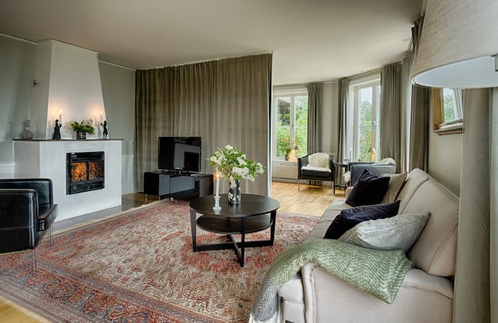 Nice, comfy apartment near Drottningholms Castle
