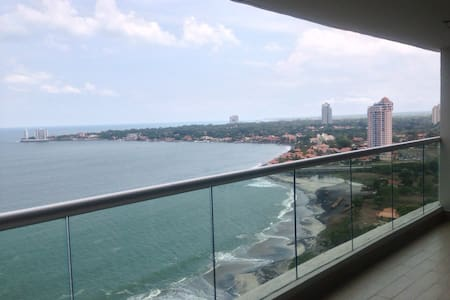 Beautiful Ocean View Apartment - Nueva Gorgona