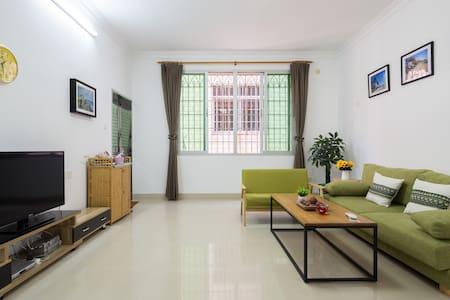 集美学村嘉庚公园靠海文艺精装大三房家庭套房(女生、家庭入住)梦想家 - Xiamen