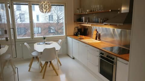Recently renovated modern apartment.