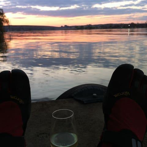 Private retreat on the Vaal River - Vanderbijlpark - Бунгало