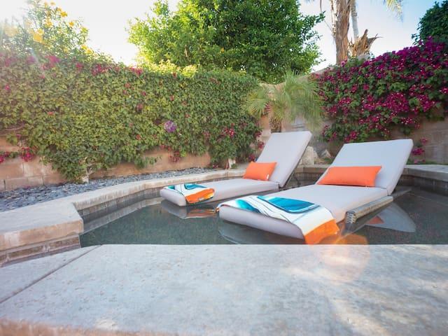 Desert Oasis -pool&spa near all major festivals