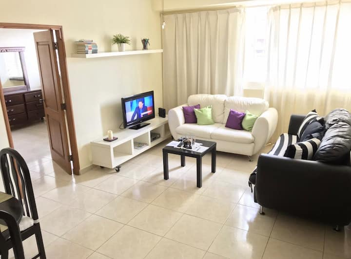 Beautiful furnished 1 bedroom apartment