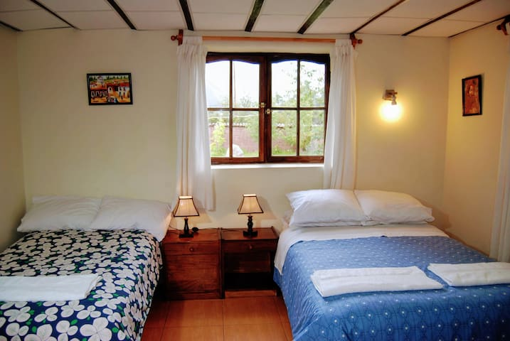 Twin Room in guest house in the Sacred Valley