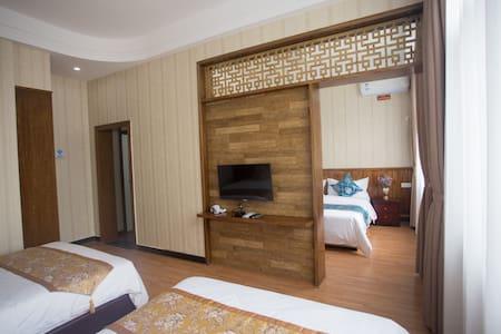 天门山索道乘坐处附近超豪华家庭套房(3床) - 张家界市 - Appartement
