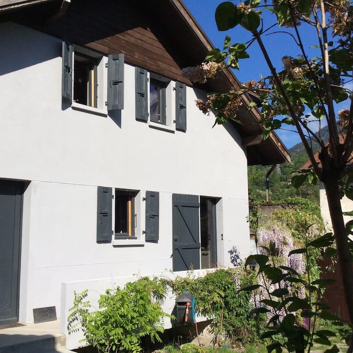 house near Chamonix St Gervais