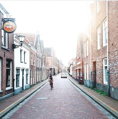 familiehuis dichtbij Amsterdam in het mooie Muiden