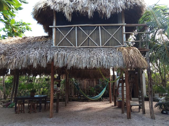 Palapa room....up stairs please!