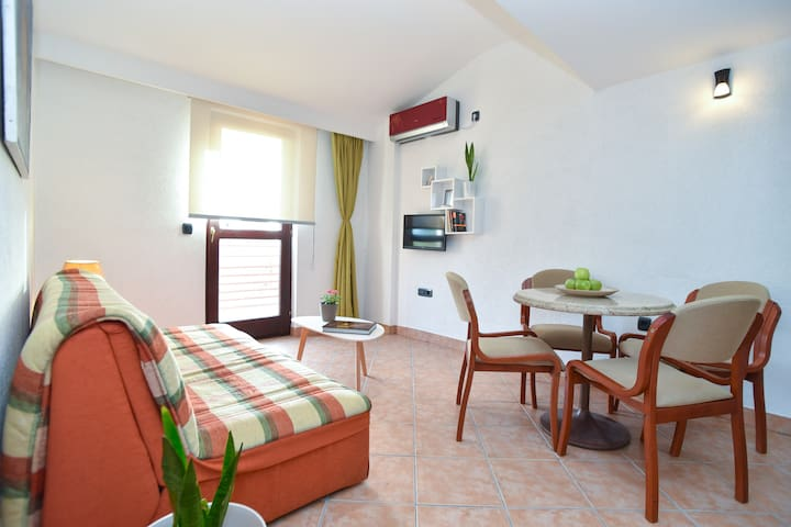 Apartment with SEA VIEW in Petrovac