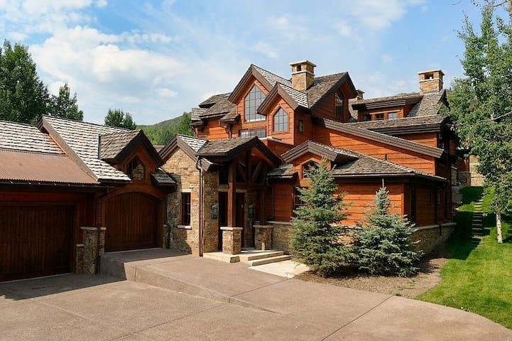 Snowmass Meadow Road Retreat - Aspen - Huis