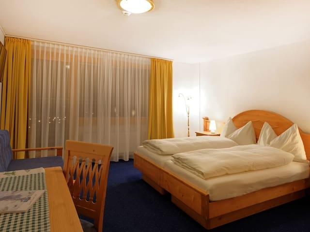 Hotel Plateau Rosa, Zermatt  Double room view Matterhorn