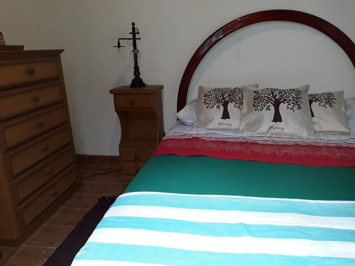Quarto em casa restaurada, Centro histórico - RJ