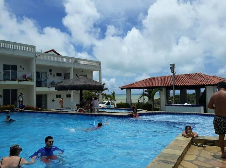 Apartamento na Praia do Amor - Jacumã, PB