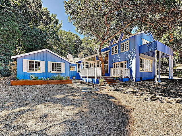 New Listing! Private Wine Country Storybook Eden