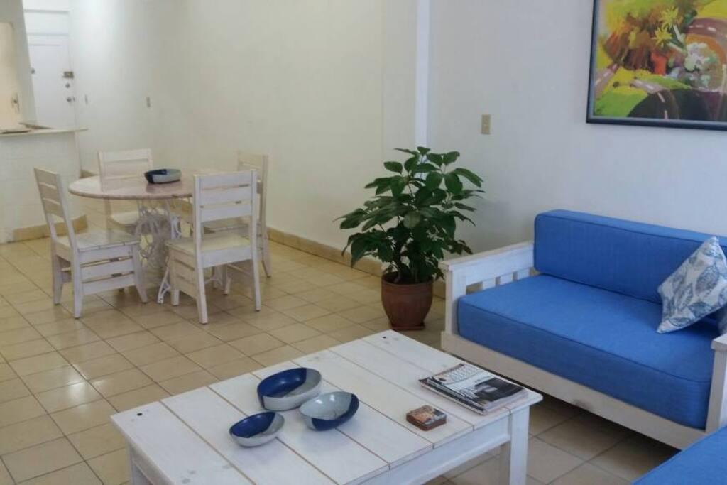 Sala comedor / Living room-Dining room