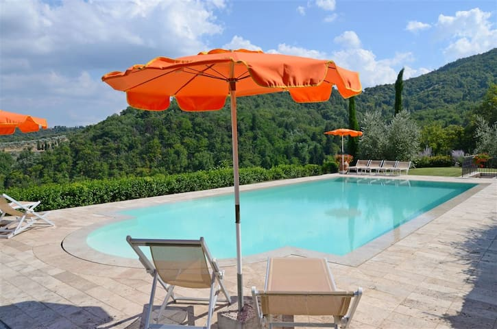 Villa in Toscana,Chianti,Firenze-Up to 8 pax - Cavriglia - Maison