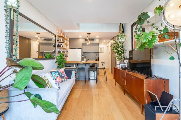 Our Urban Jungle Loft in Darlinghurst