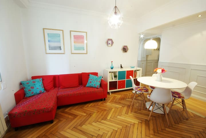 Acogedor Apartamento Céntrico Bilbao con parking