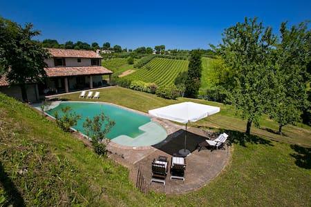 Villa vista mare collina barbecue piscina 10 pax - Rosciano - 別荘