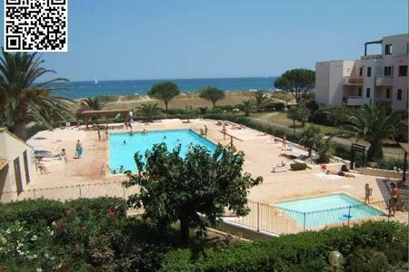 Les CAPITELLES, rez de jardin à 50 m de la plage - Saint-Cyprien
