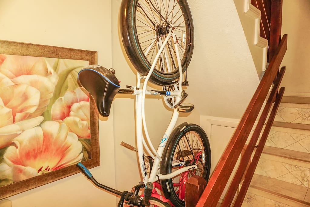 2 Beach Bikes for Your Stay with us . Included!
