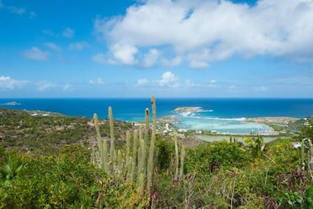 Villa WV MNA - Very private villa on the Vitet hillside with beautiful ocean views - Saint-Barthélemy