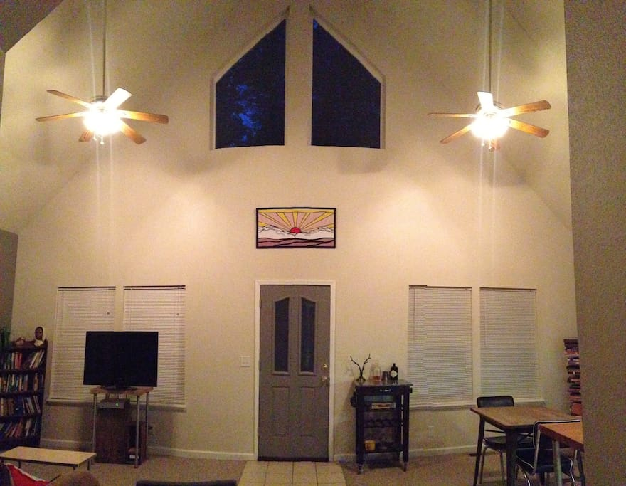 Vaulted ceiling A-Frame
