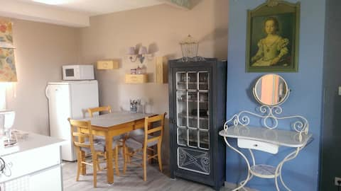 Appartement climatisé, petit déj. pour 1ère nuitée