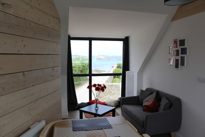 Confortable T1 en bord de mer - Santec - Appartement