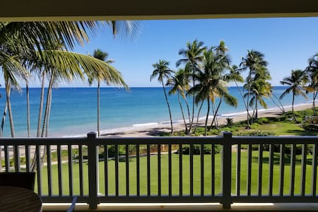 Oceanfront Getaway Villa great pool, golf & beach