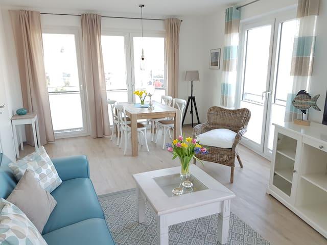 Charmante Fereinwohnung - Toplage mit Hafenblick - - Eckernförde - Appartamento