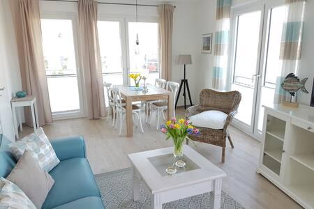 Charmante Fereinwohnung - Toplage mit Hafenblick - - Eckernförde - Apartamento
