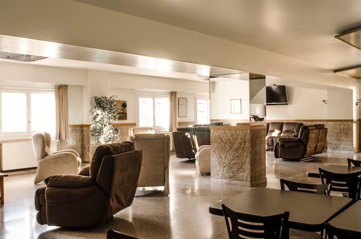 Habitación individual en La Trobada Hotel Sport